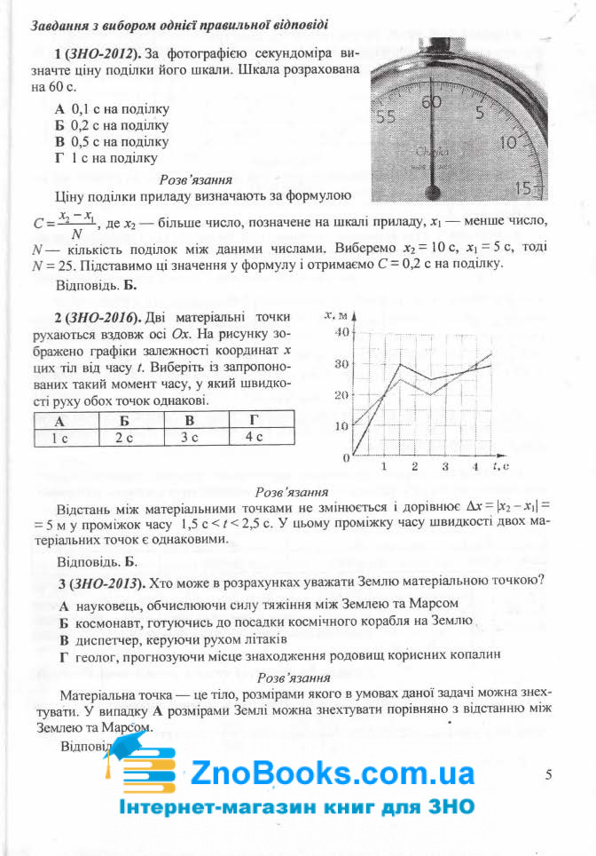 ЗНО 2021 Фізика. Міні-довідник : Струж Н. Підручники і посібники. купити 5