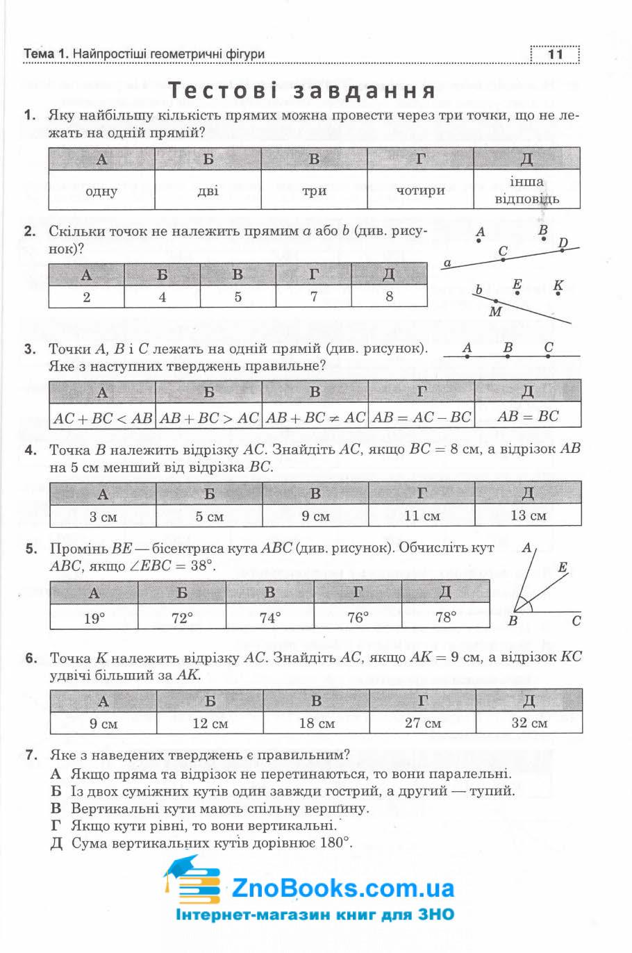 Клочко І. Математика ЗНО 2022. Геометрія. Частина 1 : Навчальна книга - Богдан. 9