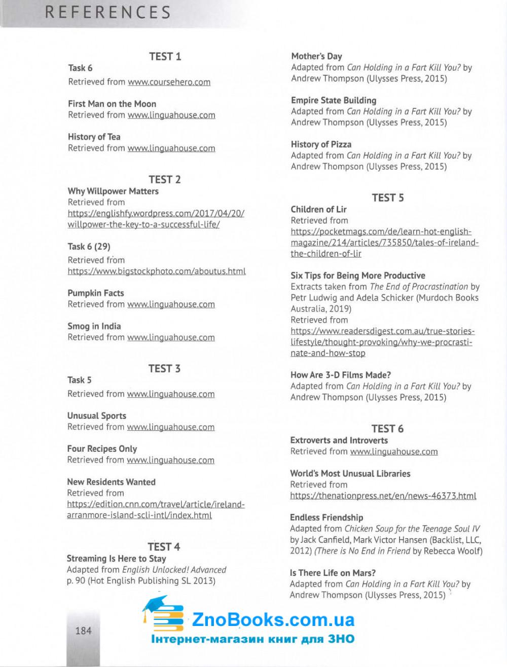 Англійська мова ЗНО 2021. Типові тестові завдання з аудіосупроводом. Тимчак О. Лібра Терра. 11