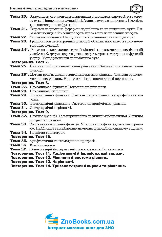 ЗНО 2021 Математика: Комплексне видання ( Клочко ) Алгебра і початки аналізу Частина 2. Навчальна книга - Богдан 3