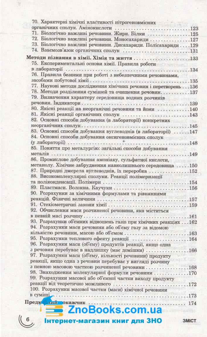 Хімія 100 тем. Довідник. Експрес-допомога до ЗНО : Мєшкова О. : Асса. купити 6